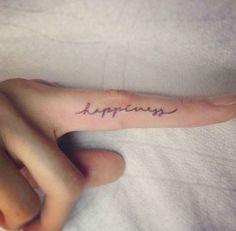 Tatuagem no dedo: a tattoo para quem ama delicadeza (fotos)