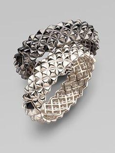 Blackened Sterling Silver Bracelet