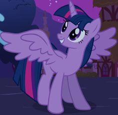 Twilight alicorn!  holy sprinkles!