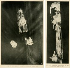 Photographs from a séance with Eva Carrière (1913)   The Public Domain Review