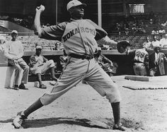 """Leroy """"Satchel"""" Paige was the greatest pitcher of all time. Paige was 42 years old when he was signed to his first major league contract with the Cleveland Indians in 1948. Other than holding the record for oldest rookie ever to play the game, one of Paige's lesser know accomplishments is that he invented the knuckle ball."""