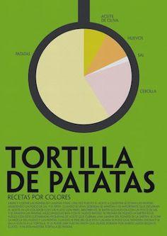 Recetas_originales_por_colores_de _cocina_española_muy_fáciles
