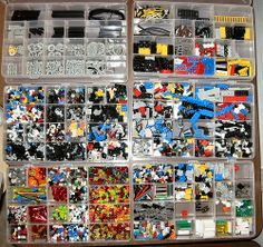 Detailed Lego sorting