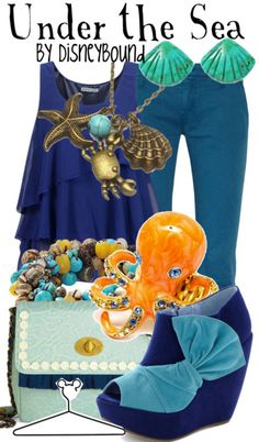 Under the sea by Disey Bound Fashion Disney Outfit The Little Mermaid