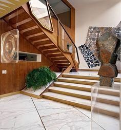 Villa Planchart, [Italian architect and furniture designer] Gio Ponti's house in Caracas, photo Roberto Schezen/Esto via WSJ.com