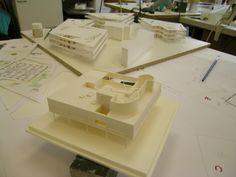 VILLA SAVOYE by Le Corbusier, scale model 1:200