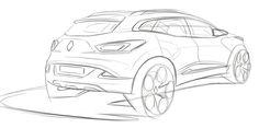 renault design sketch에 대한 이미지 검색결과