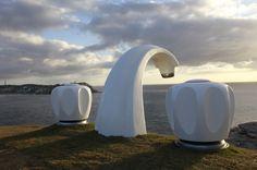 Sculpture by the sea, Simon McGrath