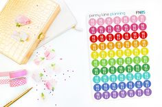FN05 // Meal Plan Planner Stickers // Erin Condren Life Planner Plum Paper Planner Kikki K Filofax Happy Planner Inkwell Press planner stickers erin condren life planner reminder stickers functional stickers eclp stickers planner decorations rainbow meal plan stickers dinner stickers meal stickers plan what to eat penny lane planning