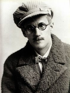 Sussex, 1923. Joyce after he started Finnegans Wake