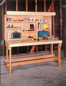 image of garage work bench | folding workbench folding bydavid radtk e workbench the family ...