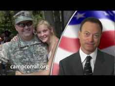 Gary Sinise Supports Camp Corral