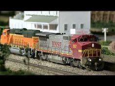 HO Scale DCC Train Run-by Bonanza