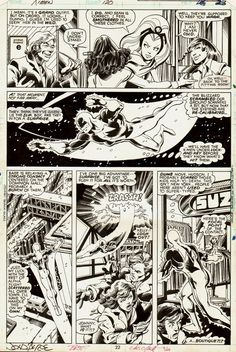 X-Men page 22 by John Byrne & Terry Austin & Glynis Wein. Artist Inspiration, Drawings, Comic Book Pages, Superhero Comic, Comic Books Art, X Men, Jack Kirby Art, Cartoons Comics, Art Pages