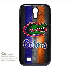 -Gators Team Logo Design on Hard Cool Case for SamSung Galaxy S4 I9500 | 5STAR - Accessories on ArtFire