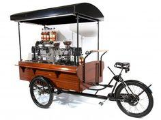 에스프레소 기계를 얹어 놓은 삼륜...자전거 ^^ : 네이버 카페
