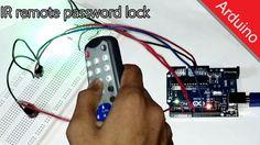 Arduino IR Password lock DIY