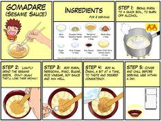 Gomadare (Sesame Sauce) | Chef Taro