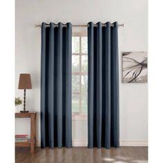 No. 918 Blaine Crushed Microfiber Grommet Curtain Panel