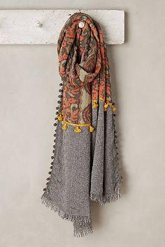 ideas womens fashion winter scarf for 2019 Lehenga, Loom Scarf, Mode Boho, Summer Scarves, Knitting Designs, Winter Wear, Scarf Styles, Womens Scarves, Winter Fashion