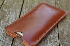Leather cell phone sleeve, smartphone cover, Iphone 5 sleeve, mobile accessories, samsung galaxy,