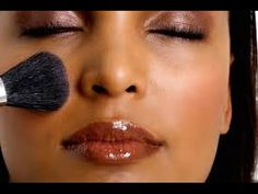 MakeUp Tutorial for Black Women with Dark Skin Old Gold Pigment - YouTube