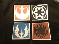 Star Wars Symbols Coaster Set