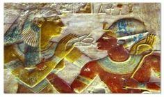 Respirar a Cruz Ansata no tempo dos faraós