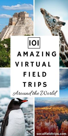 101 Virtual Field Trips Around The World - work travel Virtual Travel, Virtual Tour, Virtual Reality, Travel Around The World, Around The Worlds, Home Learning, Learning Resources, Teaching Tools, Virtual Field Trips