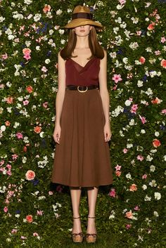 Gucci Resort 2013 Fashion Show (hat, skirt, shoes, belt w/ top on previous slide) (Giannini)