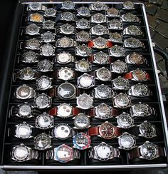 All Rolex watches.