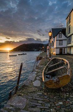 Bayard's Cove – Dartmouth, Devon, England - Travel Tips Acrylic Landscape, Landscape Photos, Landscape Paintings, Acrylic Paintings, Landscape Art, Summer Landscape, Watercolor Landscape, Oil Paintings, Ireland Landscape