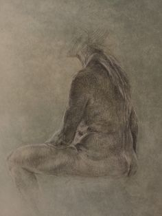Pia Ranslet Silverpoint sketch
