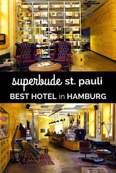Hamburg is a city full of creativity and life, and the city feels so incredibly young - so to match that you need a young and creative place to stay during your vacation in Germany, and at Superbude St.Pauli you'll find all that and more. It's the best hostel and best hotel in Hamburg