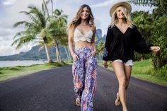Sunsetters: our newest collection for those hot days and balmy nights.