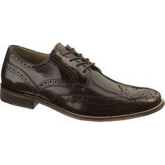 sale retailer 73f0a c263c Mens Hush Puppies BOZEMAN Comfort Wingtip Oxford. Mens Hush Puppies,  Leather Brogues, Every