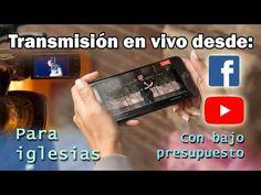 ¿Como transmitir en vivo para iglesias? - YouTube Iglesias, Videos, Channel, Audio, Entertainment, Facebook, Youtube, Instagram, Live