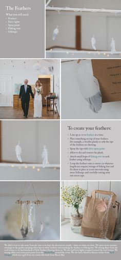 KATE DIY feathers Beautiful And Simple DIY Projects.