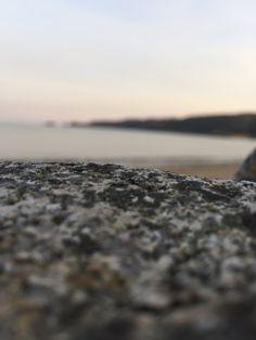 Saundersfoot beach.