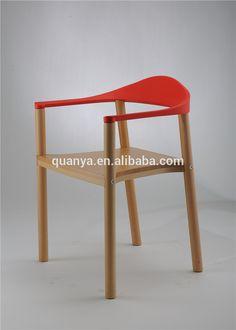 Image result for wood chair plastic backrest