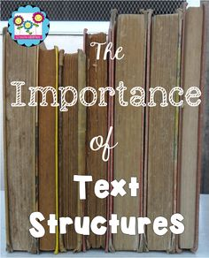 Text Structures: Um, duh! by Create-abilities