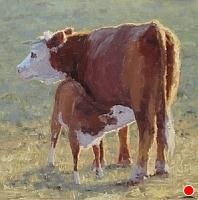 Breakfast of Champions by Kathleen Dunphy Oil ~ 20 x 20