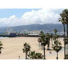 Santa Monica Pier - I've watched beach volleyball here too