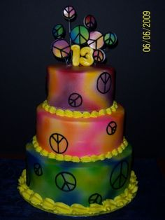 peace By krazymogator on CakeCentral.com