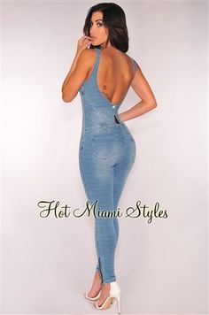 Miami Fashion, Girl Fashion, Fashion Dresses, Casual Outfits, Cute Outfits, Hot Miami Styles, Love Clothing, Sexy Jeans, Clubwear