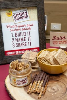 Peter Pan Simply Ground Peanut Butter display (Photo Credit: Jonathan Breton…