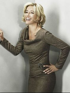 """Emma Thompson is a """"sexy librarian"""" according to David Zyla's color/archetype system."""