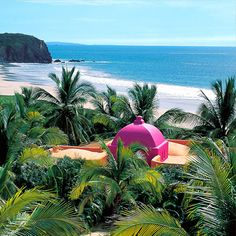 I just want to get away to Las Alamandas in Jalisco, Mexico!