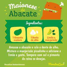 Maionese de abacate? Sim! Surpreenda todo mundo com essa receita fácil e super saudável.