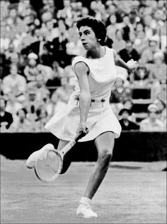 436db502b86e Maria Bueno 🇧🇷 Winner of 19 Grand Slam titles including doubles in 1960  and reaching the singles final in